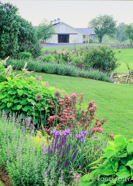 Stoneleigh Farm in Upperville, Virginia. Garden design by ...
